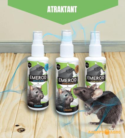 Emerod aroma atraktant za škodljive glodavce