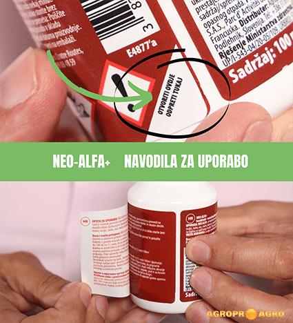 Insekticid Neo-alfa + proti insektom s podaljšanim delovanjem