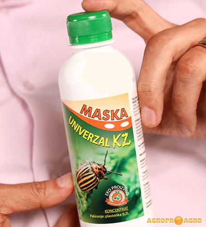 Maska univerzal kz proti listnim ušem in za odganjanje odraslih krompirjevih hroščev na naravni način (brez kemikalij in pesticidov)