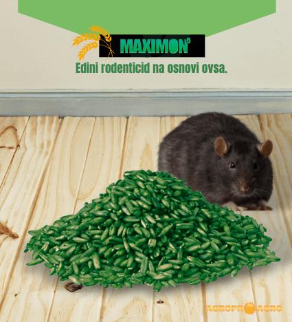 Maximon 5 vaba za podgane in miši 2.generacije