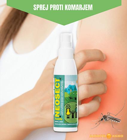 NEOSECT Family proti komarjem, klopom in ostalim insektom