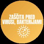 zaščita pred virusi in bakterijami