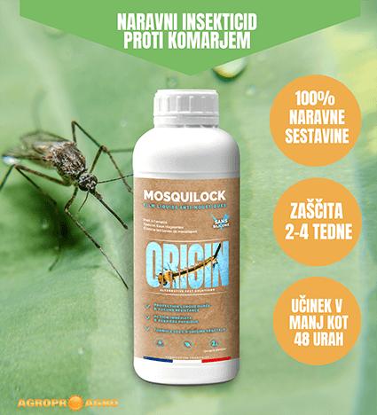 naravna zaščita pred komarji origin mosquilock z dologotrajnim učinkom do 4 tedne